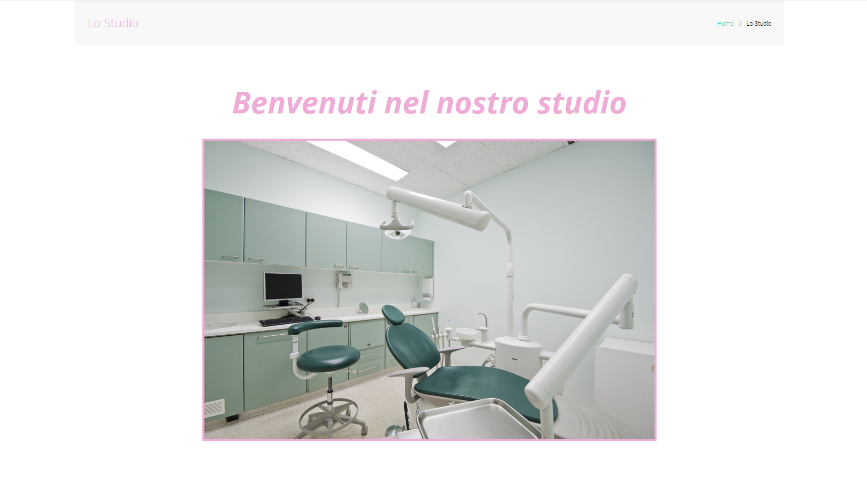 Schermata Dental Theme #01
